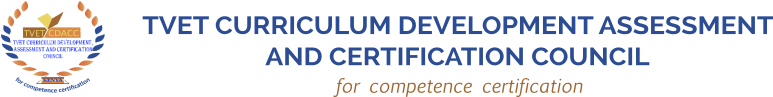 TVET Curriculum Development Assessment and Certification Council
